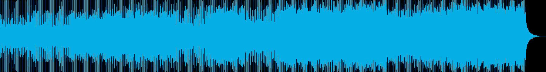 キラキラで優しい持続音多めのトランスの再生済みの波形
