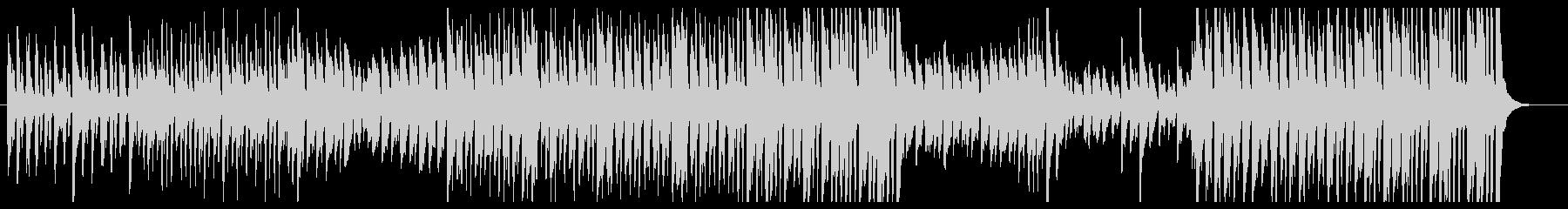 可愛い感じピアノアコースティックの未再生の波形