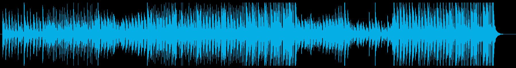 可愛い感じピアノアコースティックの再生済みの波形