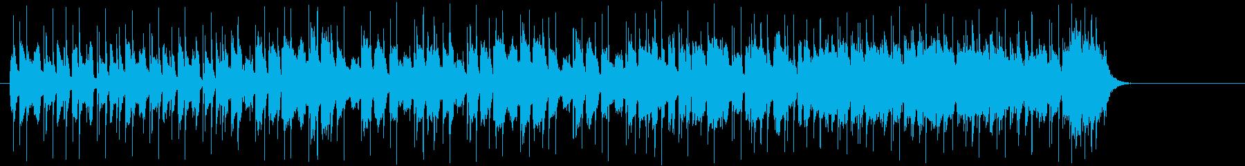 アウトローなギターマイナーブルースロックの再生済みの波形