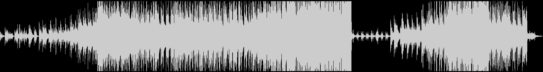 感動的なピアノメイン曲の未再生の波形