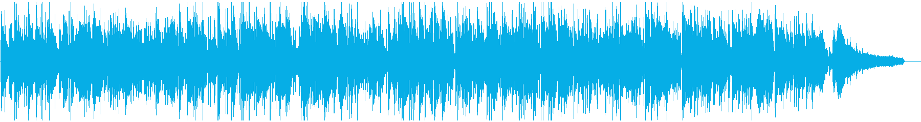 柔らかサックスのリラックス・ボサノバの再生済みの波形