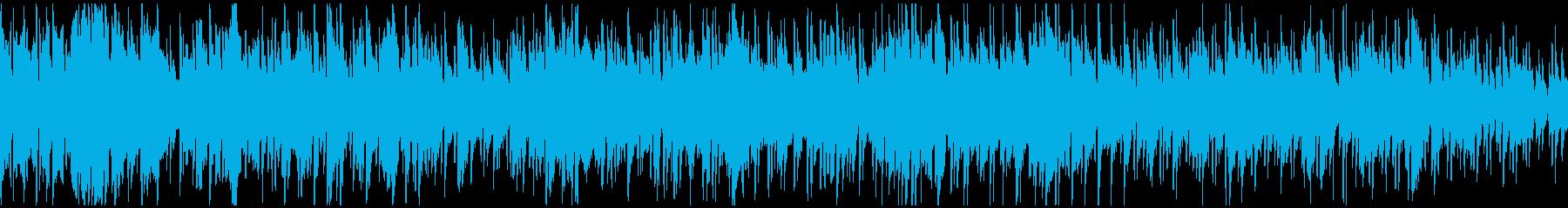 フレッシュなボサノバ・ジャズ ※ループ版の再生済みの波形