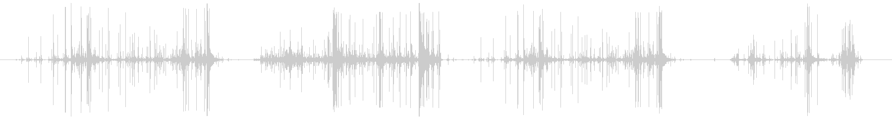 タマネギの皮をむく (長め ペリペリ…)の未再生の波形