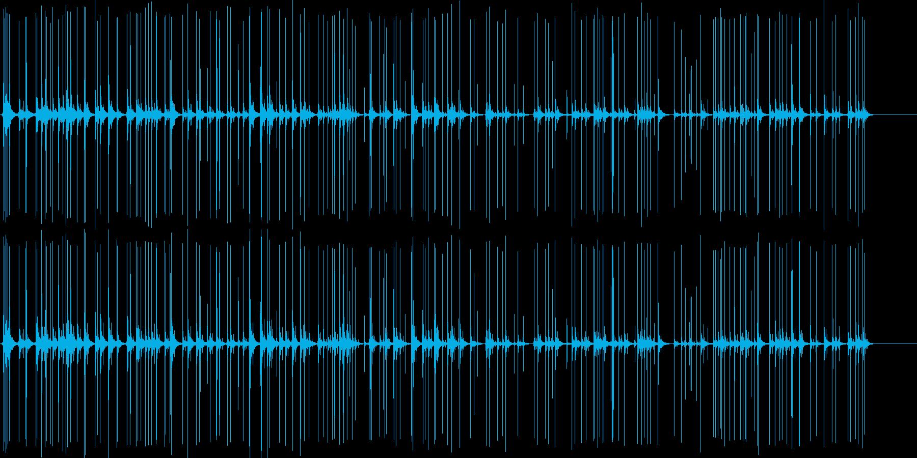 爆発する爆竹の再生済みの波形