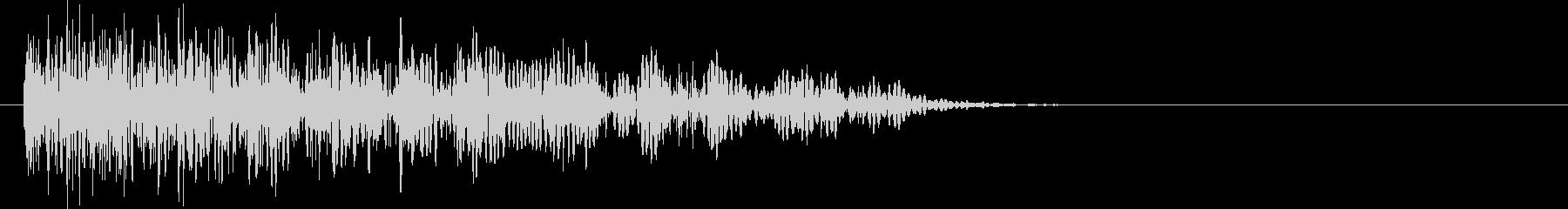 爆発・衝撃波・ソニックブーム6の未再生の波形