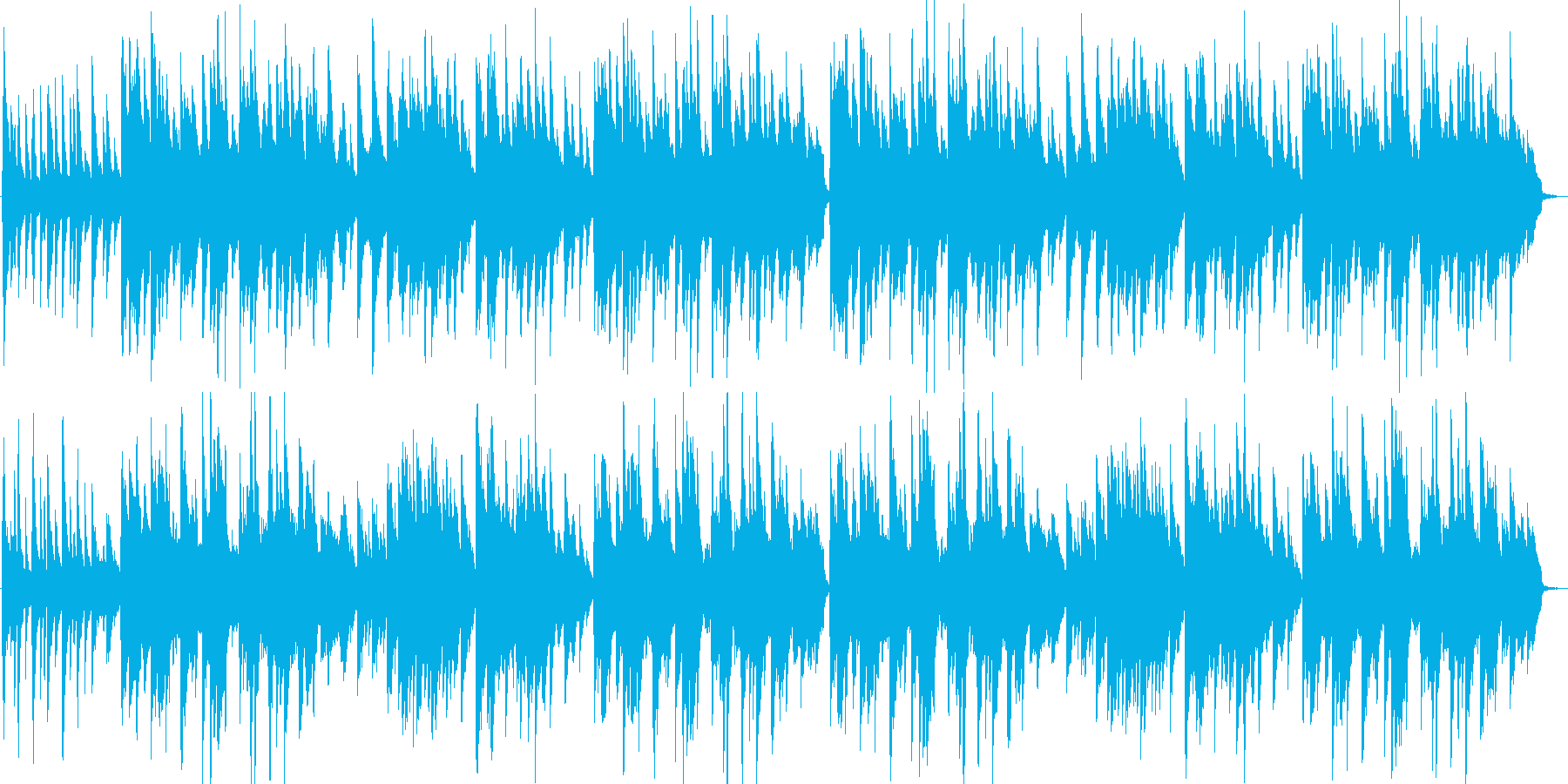 七つの子・童謡・子守唄・カラスなぜなくのの再生済みの波形