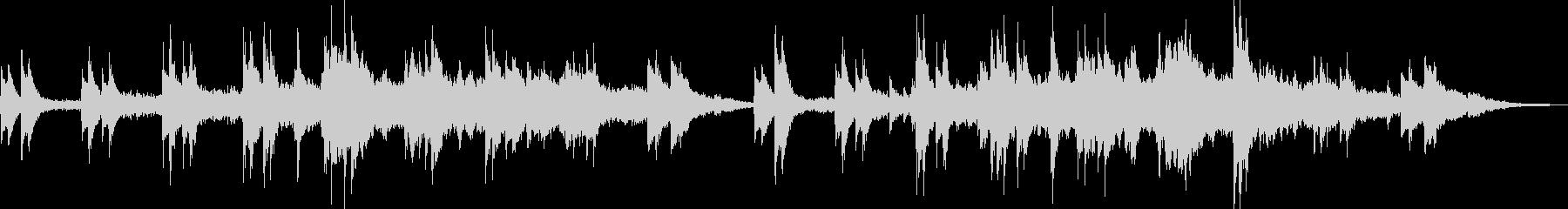 催眠スタッカート弦はピアノと持続弦...の未再生の波形
