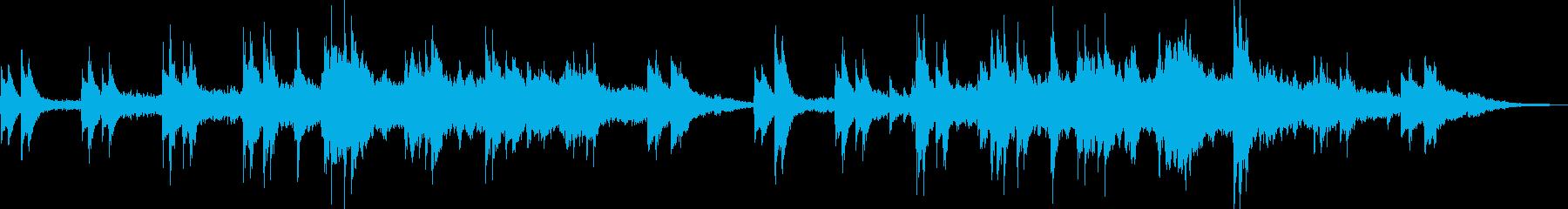 催眠スタッカート弦はピアノと持続弦...の再生済みの波形