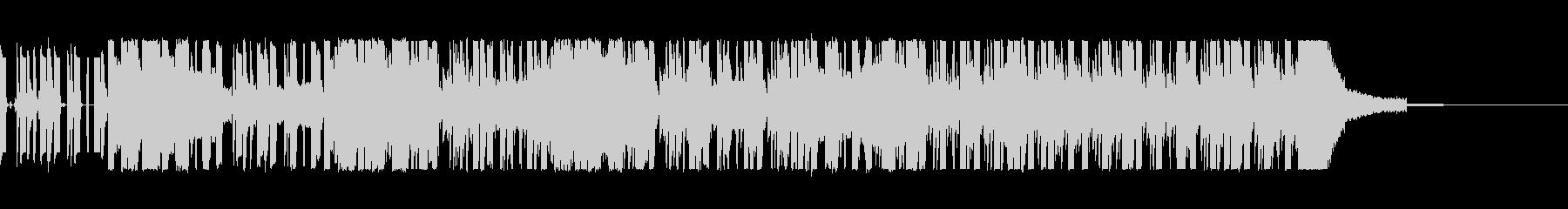 エレクトロ ハウス テクノの未再生の波形
