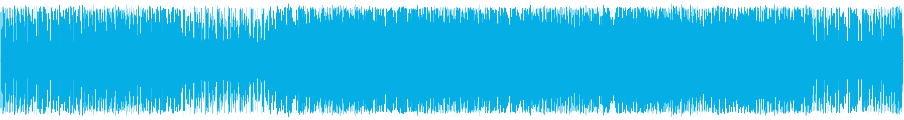 グルービーなテクノの再生済みの波形