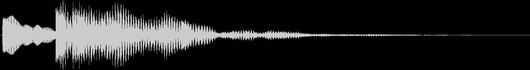 サンドロゴ(オリエンタル)の未再生の波形