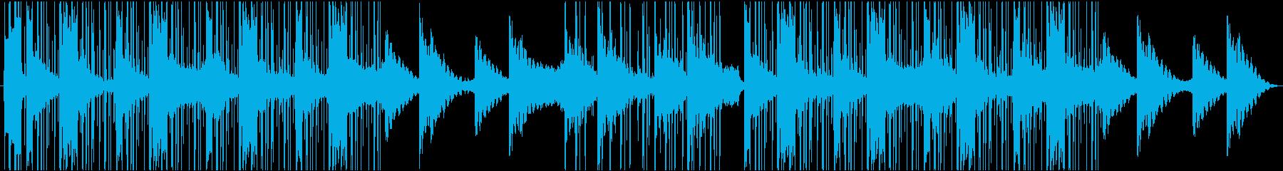 美しいピアノのあるラウンジヒップホップの再生済みの波形