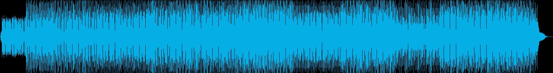 軽快なディープハウス、エモーショナルの再生済みの波形