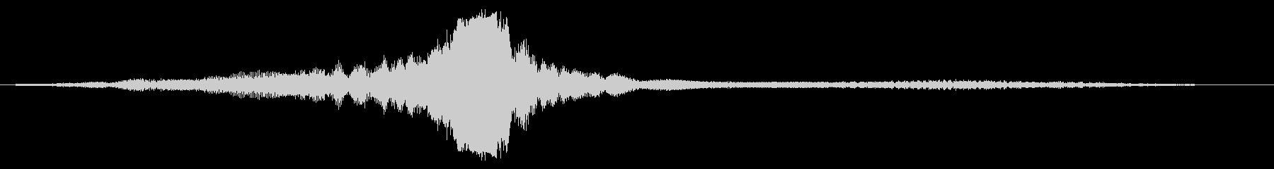 両生類のツインプロップ飛行機:内線...の未再生の波形