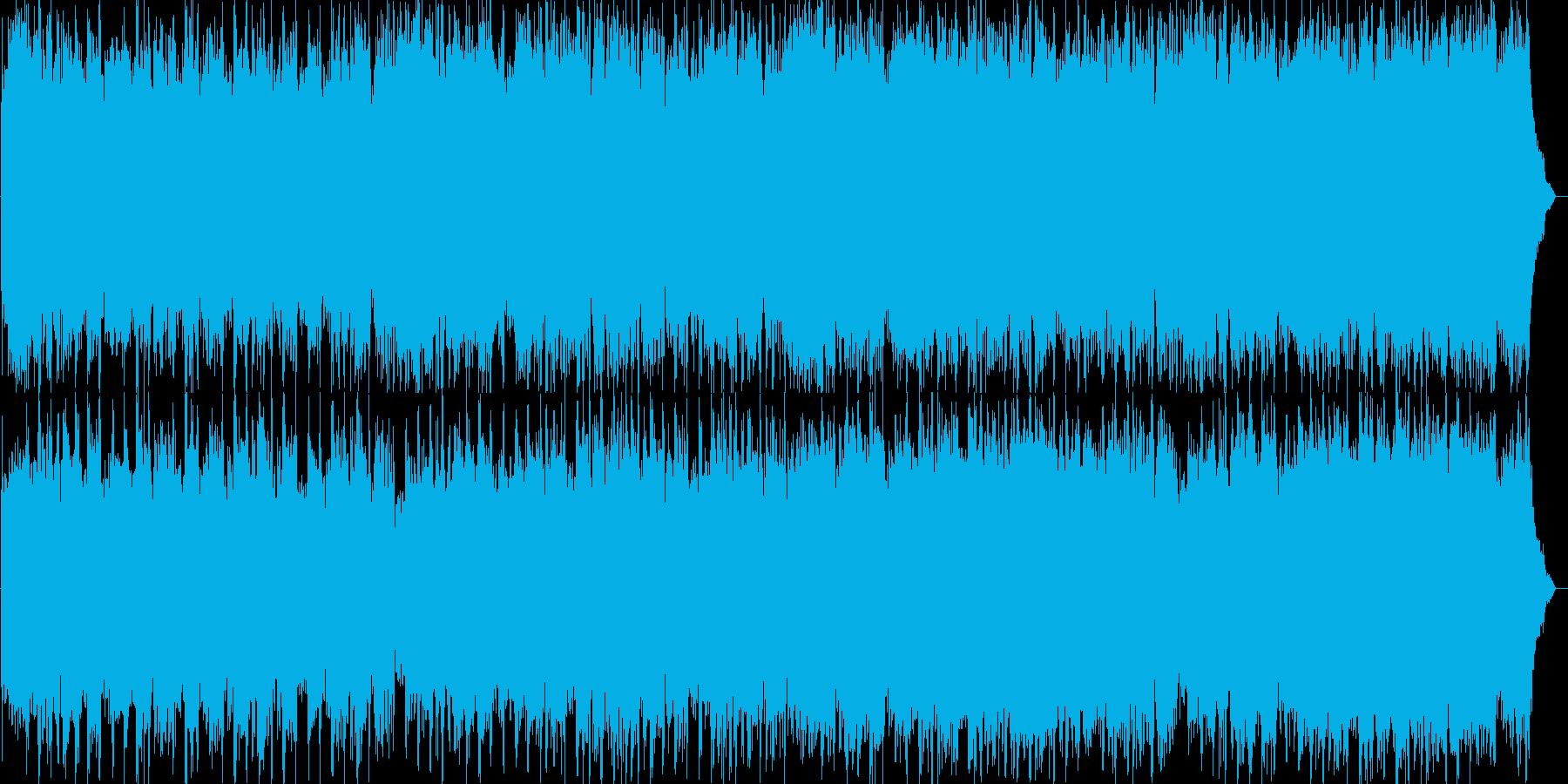 アップテンポなエレクトロポップミュージ…の再生済みの波形