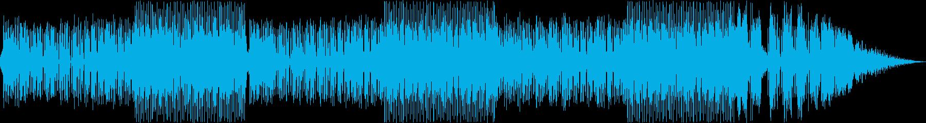 チルアウトと海のイントロ。ファンキ...の再生済みの波形