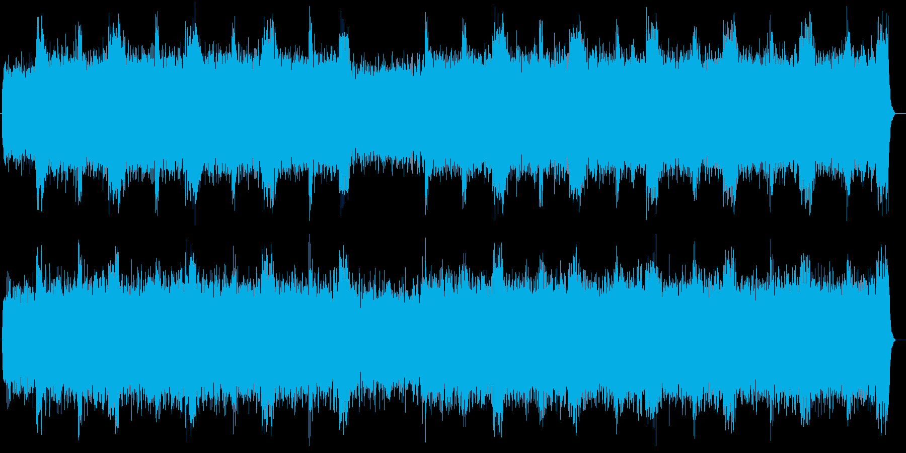 壮大な宇宙を感じるエレクトリックサウンドの再生済みの波形