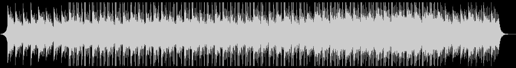 バックグラウンドテクノロジーミュージックの未再生の波形