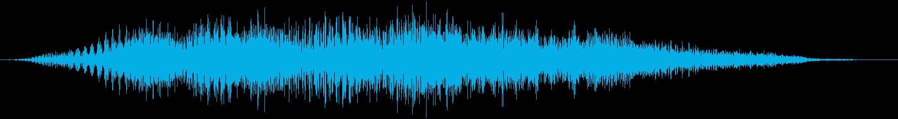 【物音】 シート テーブル 動かす 02の再生済みの波形
