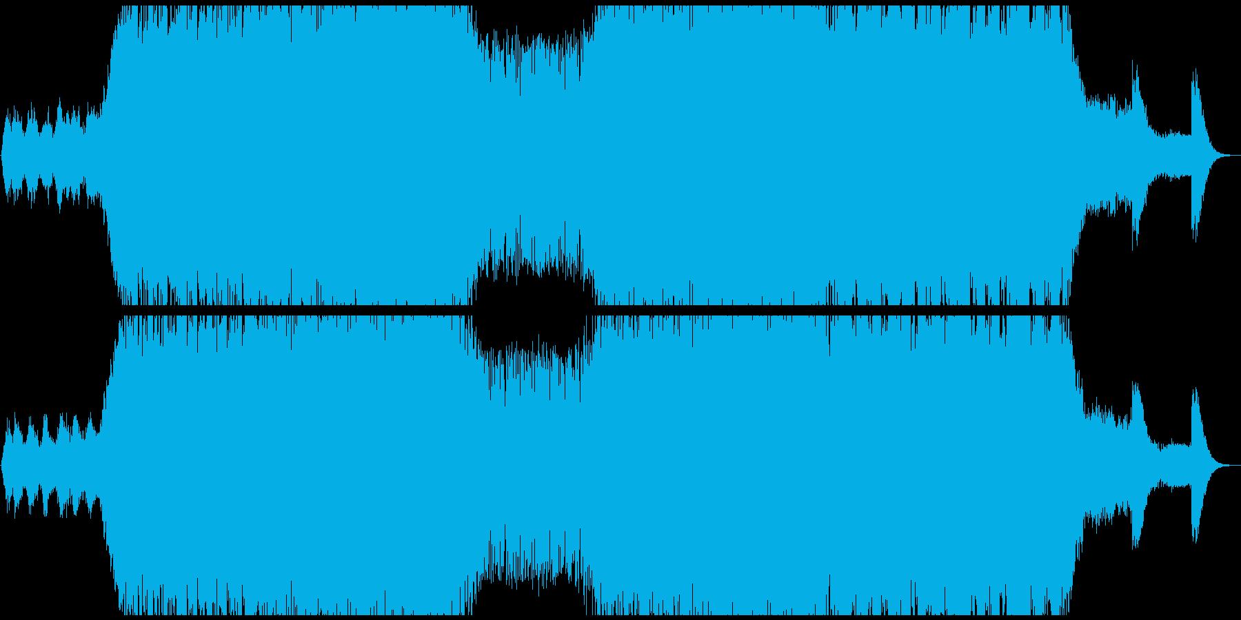 クラブ/ダブステップの再生済みの波形