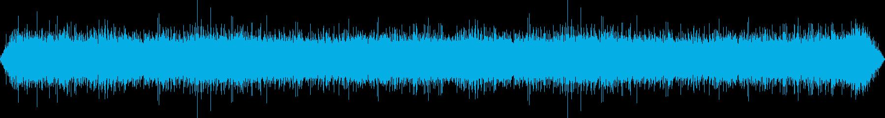 キャンバステントの雨の再生済みの波形