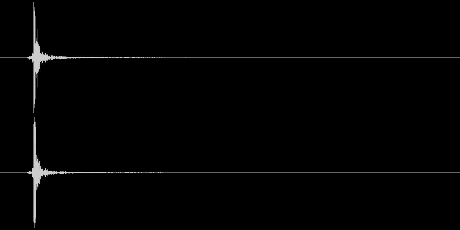 スイッチ 電気など パチッ(軽やかC)の未再生の波形