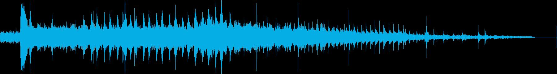 ベルトドライブマシン、スタート、ラ...の再生済みの波形
