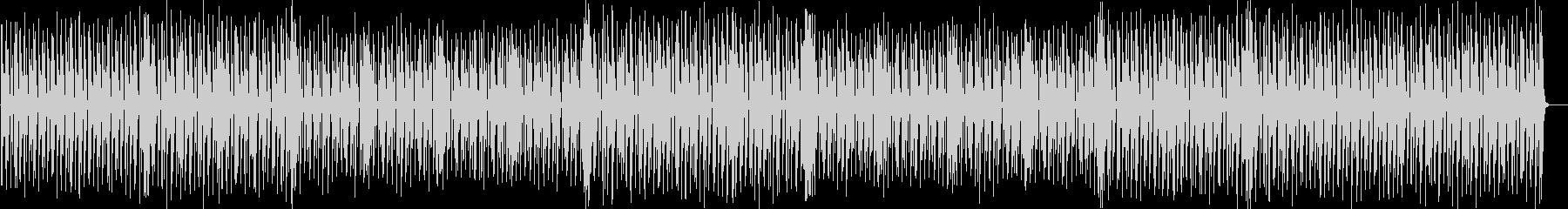 跳ねるグルーヴのエレクトロポップの未再生の波形