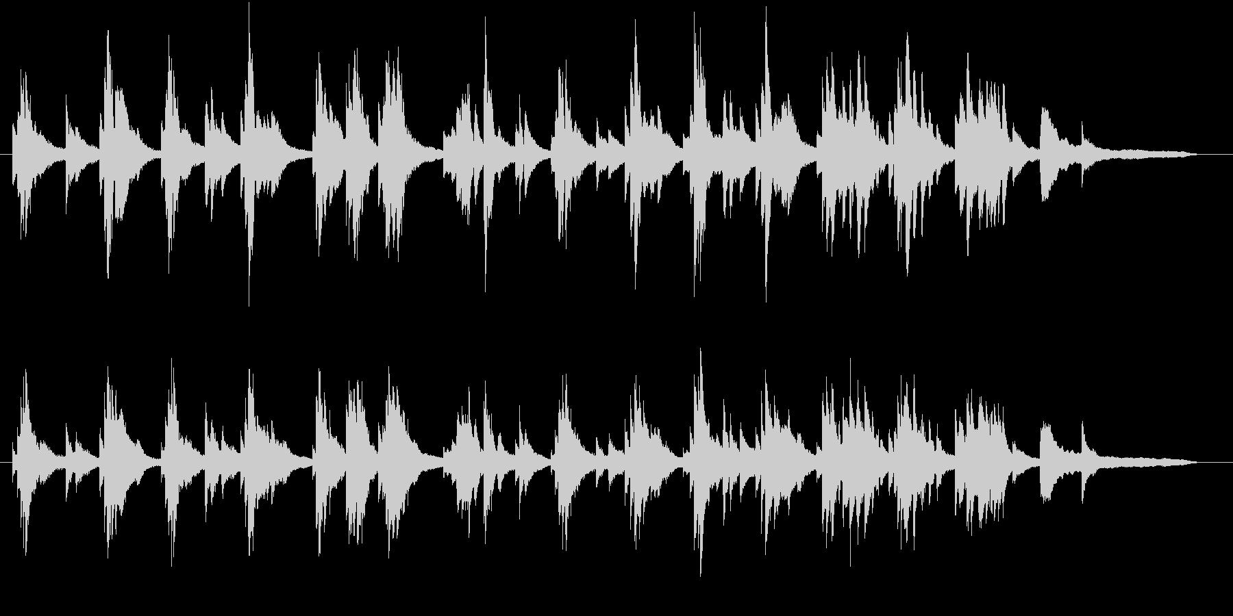生ピアノ録音-ジャジーで美しいバラードの未再生の波形