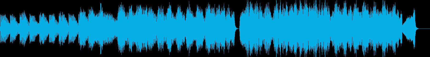 感動的なストリングス曲の再生済みの波形