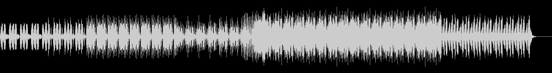 力強いビートのピアノバッキングEDMの未再生の波形