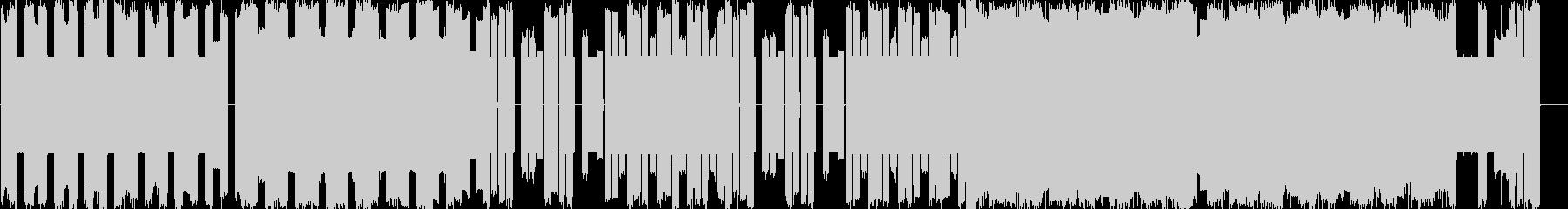 ファミコン系ピコピコフィールド曲の未再生の波形
