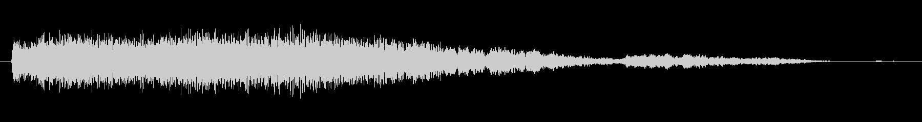 素材 シンセベルズロール03の未再生の波形