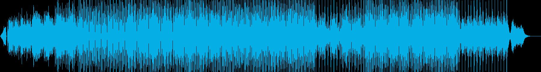 明るめ、淡々、爽やか、エレクトロPOPの再生済みの波形