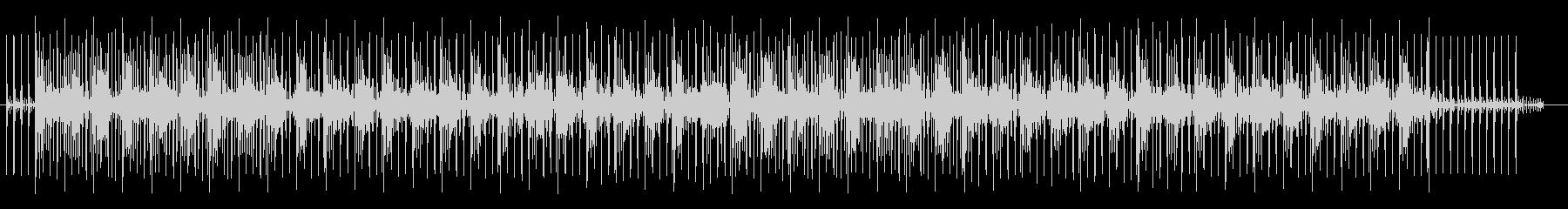 神秘的でミステリアスなシンセサウンドの未再生の波形