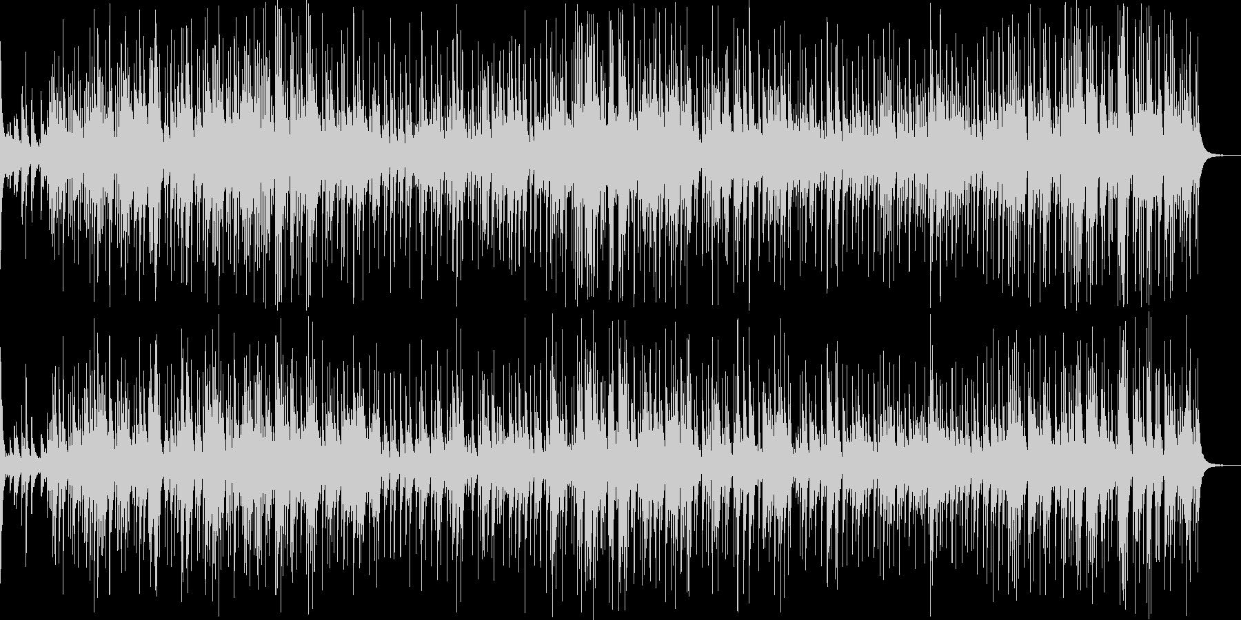 幻想的な雰囲気の悲しいBGMの未再生の波形