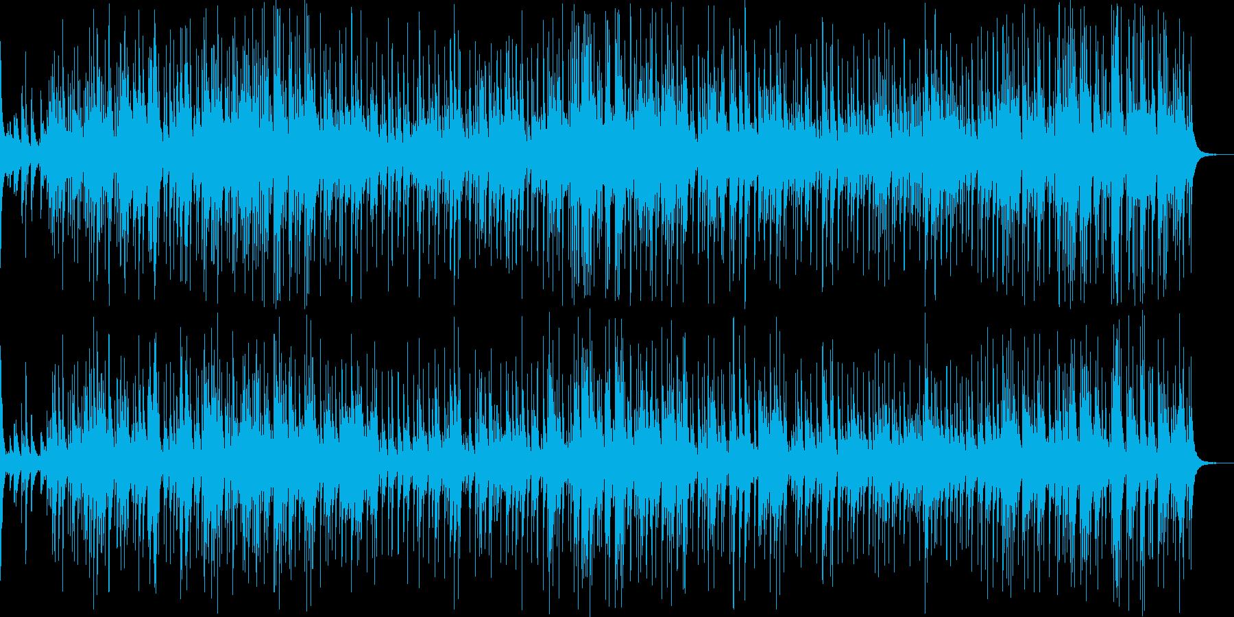 幻想的な雰囲気の悲しいBGMの再生済みの波形
