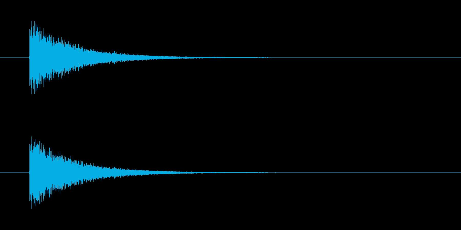ピシューン! ミサイルの発射音です。の再生済みの波形