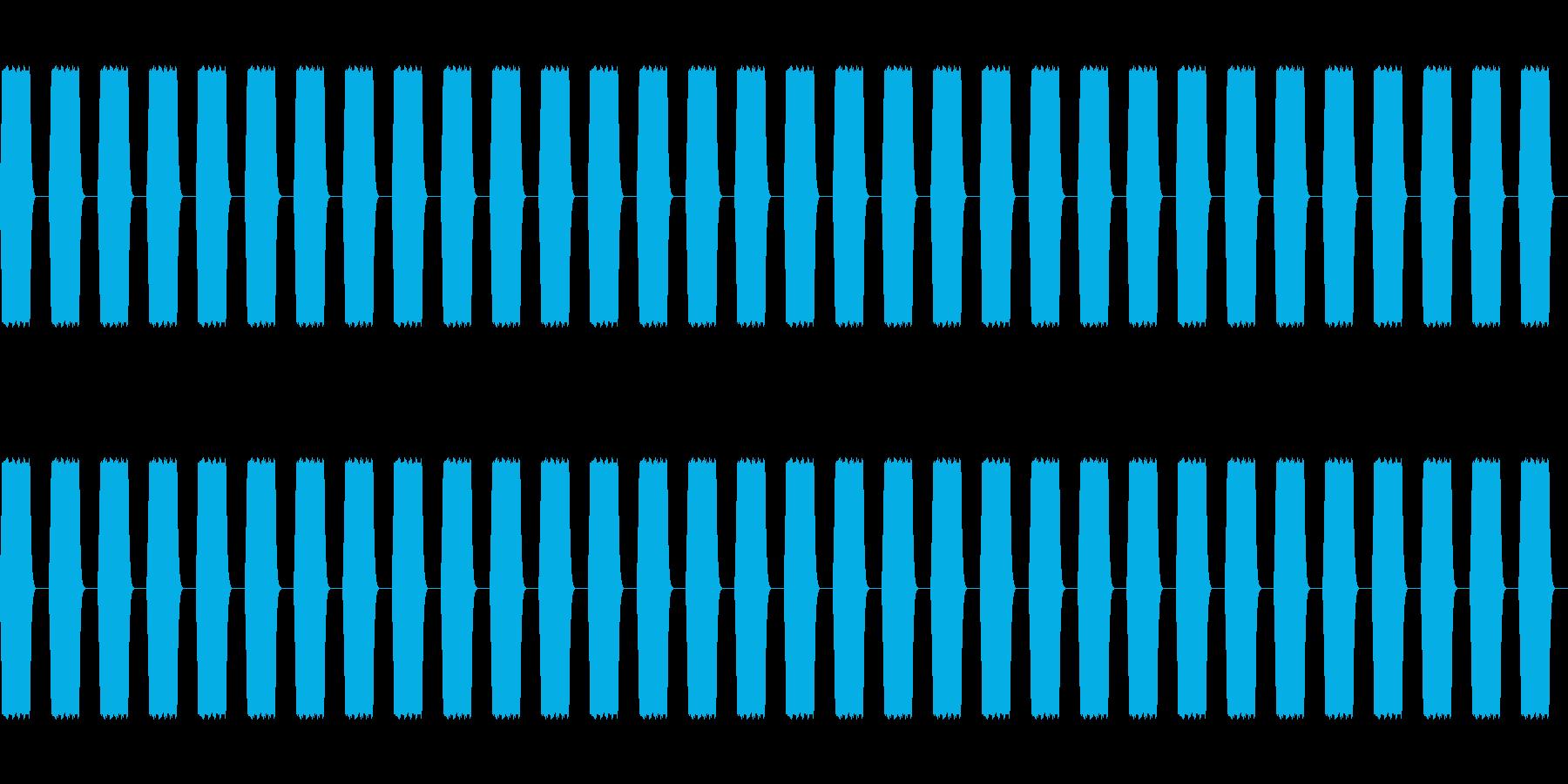 ピピピ:ステータス加算の再生済みの波形