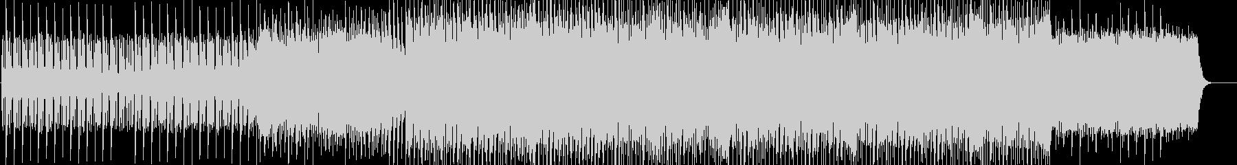 ビートの効いたメリハリある曲の未再生の波形