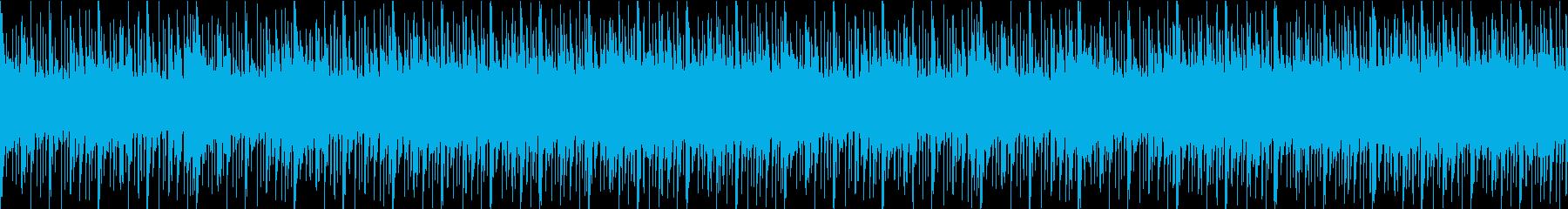 砂漠 RPG ゲーム音楽 現代的ビートの再生済みの波形
