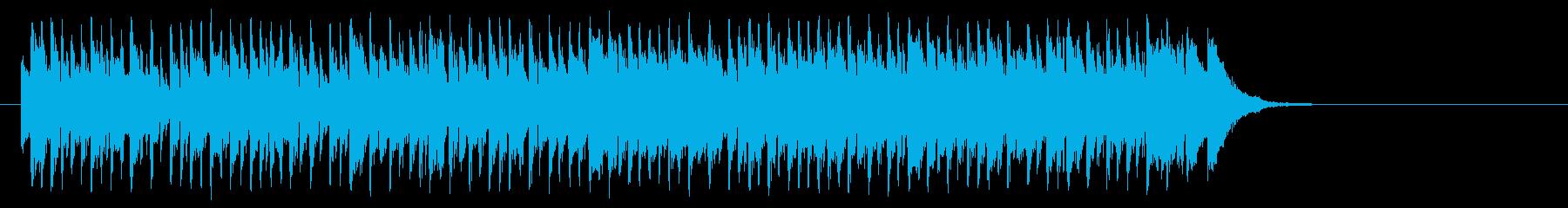 シュプールを描くポップ(Aメロ)の再生済みの波形