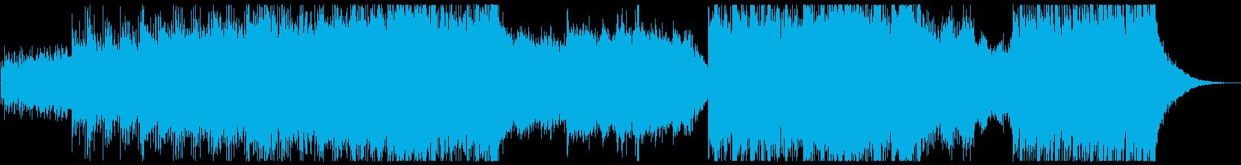 爽やか、ラジオ、キラキラ、チルアウトの再生済みの波形