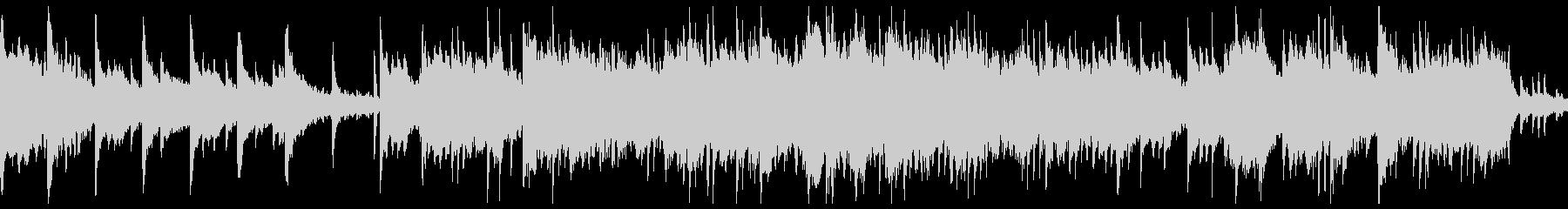 ピアノとサックスのリラックスBGMの未再生の波形