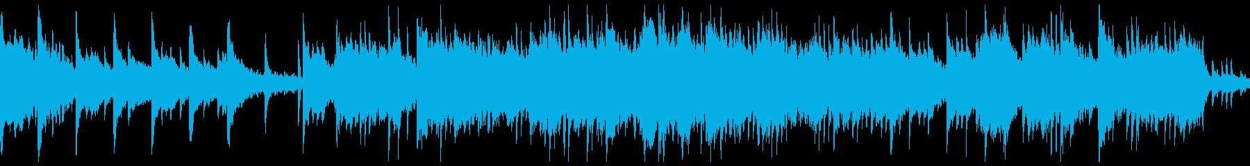 ピアノとサックスのリラックスBGMの再生済みの波形