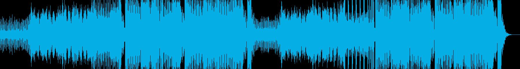 ストレートなEDM & ダブステップの再生済みの波形