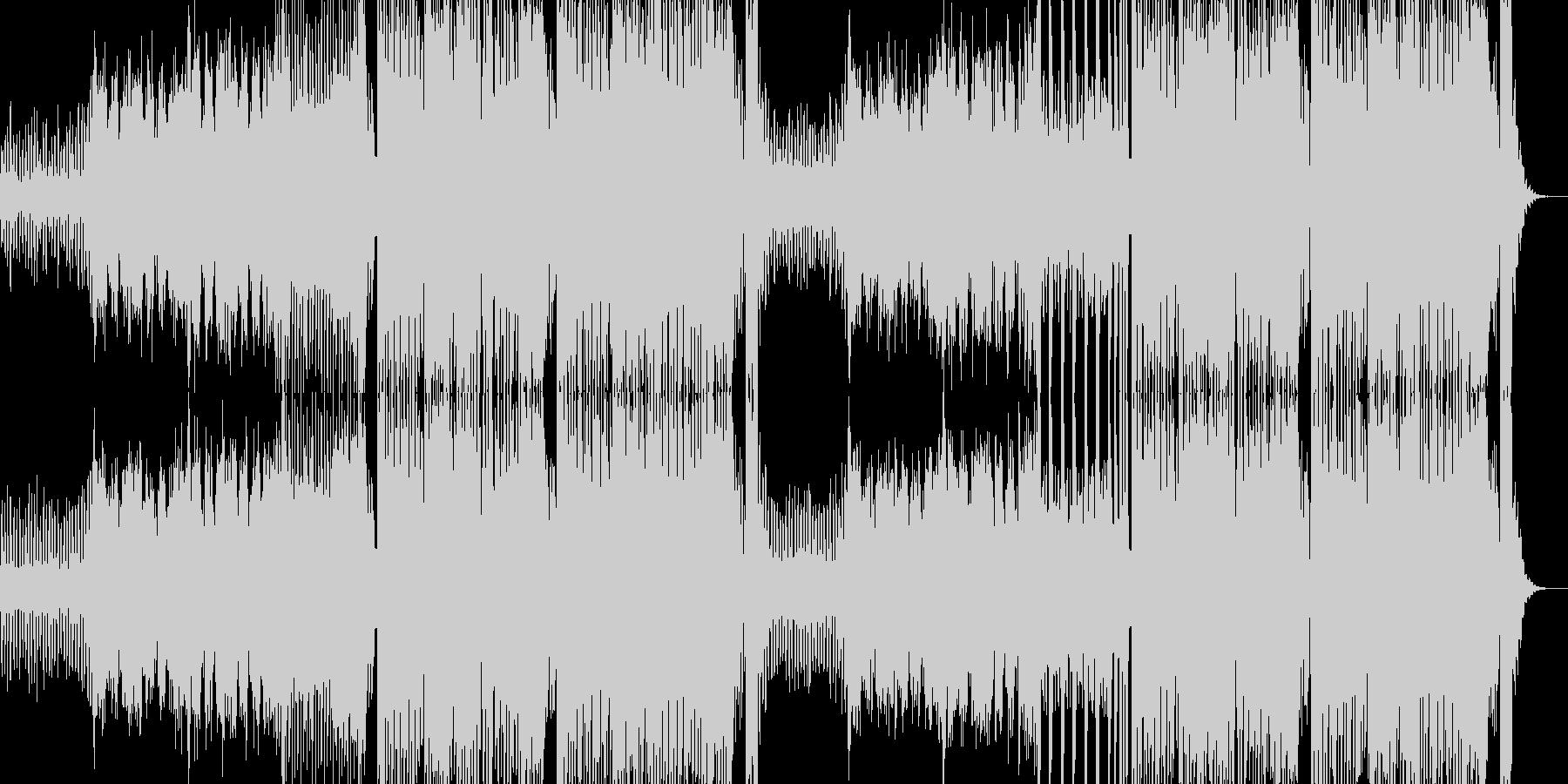 ストレートなEDM & ダブステップの未再生の波形