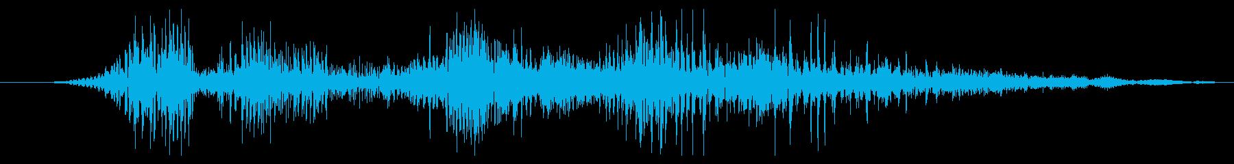 ドラゴン モンスター ゲームコンテニューの再生済みの波形