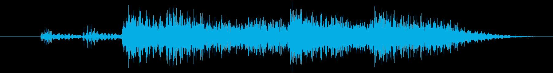 ジャカジャーン(アコギとピアノ)の再生済みの波形